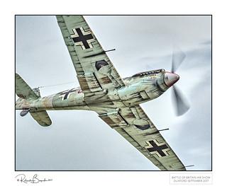Too close for comfort - Messerschmitt Bf 109