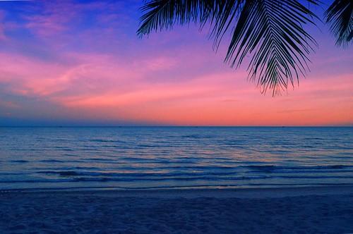Hua Hin Sunset Sky
