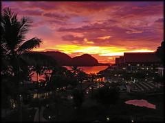Langkawi - Sunset from hotel room balcony (WY Lim) Tags: malaysia langkawi westin resort sunset 2017 limwy lg g6