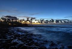 Sunrise, Poipu, kauai. (drpeterrath) Tags: sunset hawaii kauai pipu ocean pacific water blue rocks waves longexposure canon eos5ds5 5dsr landscape seascape