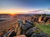 Higger sunrise (Stephen Elliott Photography) Tags: peakdistrict derbyshire hopevalley hathersage higger tor sunr autumn dawn olympus em1 714mm kase filters