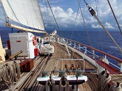 Sailingto Dubrovnik (robin denton) Tags: starflyer starclippers mediterranean seascape sea yacht boat sailing cameraphone