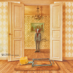 mousetrap (olgavareli) Tags: olga vareli mousetrap room surrealism magic realism trolled