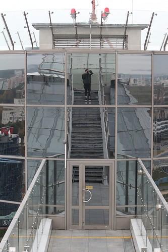 Минск с обзорной площади Национальной библиотеки