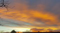 November 20, 2017 - A beautiful sunrise.  (David Canfield)