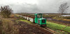 Drochtersen-Aschenmoor Peat (Kingmoor Klickr) Tags: narrowgauge railway schöma 5520 drochtersenaschhornermoor germany schmalspurbahn industrial peat works