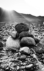 """""""The gem cannot be polished without friction, nor man perfected without trials.""""  ― Confucius (icarium82) Tags: sonydscrx1rm2 travel bnw bw blackandwhite whiteblack schwarzweiss morocco stones mountain sunset sun bokeh monochrome sundaylights"""