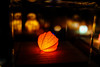 Illuminight (Blue Changhui Lee) Tags: hyper japan illuminight japanese culture akari latern magical goldfish cutout paperwork seashell sea urchin shadow light art installation pretty night