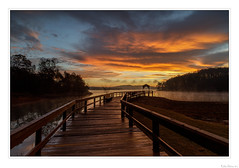 Sunrise Pier (John Cothron) Tags: 3stopsoftedgegraduatedneutraldensityfilter americansouth canoneos5dmkiv cothronphotography dawsonville distagon2128ze distagont2821ze dixie forsythcounty georgia johncothron lakelanier lee90gs leefiltersystem southatlanticstates southernregion thesouth us usa unitedstatesofamerica warhillpark zeissdistagont2821ze autumn cloud clouds cloudyweather dawn fall landscape longexposure mist morninglight outdoor outside pier reflection scenic sky sunrise twilight img22524171125 ©johncothron2017 sunrisepier distagont2821