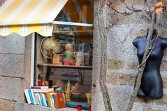 en flânant (marthelelièvre) Tags: boutique brocante antiquités lecture livres books reading sony nex6 1650mm