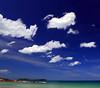 Thai sky (Robyn Hooz) Tags: thai thailandia kohsamui samui filtro polarizzatore equator cielo nuvole clouds blue blu beach spiaggia mare vacanza holiday fun
