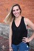 Ryann (Levi Smith Photography) Tags: tank top black jeans women woman fashion senior portrait smile hair whip blonde blond cute arms camisole eyes hot lady girl