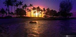Sunset On Kukio Beach #2