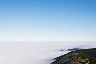 Weather inversion in the Karkonosze