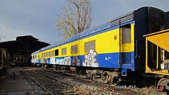 L.H.B. Y-131 (Juan Ruz N.) Tags: tren chile coche ferrocarril maestranza comedor valparaiso expreso purogrupo