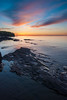 Sunset with Rocks, part 2 (dcclark) Tags: michigan up upperpeninsula coppercountry porcupinemountains lakesuperior sunset rocks landscape
