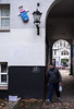 HH-Installations 1967 (cmdpirx) Tags: hamburg germany reclaim your city urban street art streetart artist kuenstler graffiti aerosol spray can paint piece painting drawing colour color farbe spraydose dose marker stift kreide chalk stencil schablone wall wand nikon d7100 installation install cement glue kleber klebstoff tile kachel styrodur styropor vinyl lp cd style guerilla knitting yawn bombing tape inst cutout yarn beste kunst