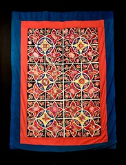 Chinese quilt (kimbar/Thanks for 3 million views!) Tags: quilt chinese southwest china exhibition art internationalfolkartmuseum santafe newmexico