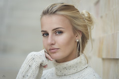 Femke Portrait (HarryK Fotografie) Tags: autumn portrait beautiful beauty shooting availablelight outdoor art model girl blonde mönchengladbach germany