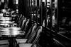 bistro (N.sino) Tags: m9 summicron90mm marunouchi bistro chiraist table window cafe 丸の内 ビストロ チラリズム チラリスト