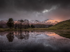 The Promise (tdove77) Tags: kelly hall tarn coniston torver reflections lake district south lakes old man dow crag cumbria lumix gh3 panasonic mirrorless micro four thirds lee filters nd graduated filter leica 818mm wide angle