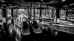 Atocha  tras el cristal, camino de Toledo (pepoexpress - A few million thanks!) Tags: nikon nikkor d750 nikond750 nikond75024120f4 24120mmafs pepoexpress atocha estacióndeatocha bw madrid cielosdemadrid © all rights reserved do use photography withaut permision allrightsreserved