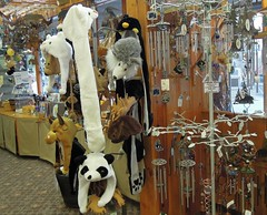 USA (Juneau, Alaska) Animal shaped hats (ustung) Tags: shop usa alaska juneau animal shaped hat toy bear souvenir nikon