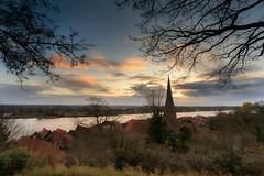 Lauenburg (PhotoChampions) Tags: lauenburg landschaft landscape village fluss herbst autumn schleswigholstein view blick ausblick sunset sonnenuntergang rural cityscape