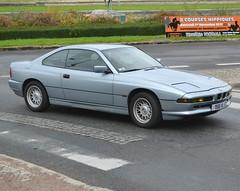 BMW E31 Series 8 (1989-1999) 2017 Maisons-Laffitte 10-29 (alaindurandpatrick) Tags: bmw bayerischemotorenwerke bmwe31 bmw8series cars veterancars germancars germanveterancars classicmotorshows 78 maisonslaffitte yvelines iledefrance greaterparis france