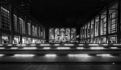 The Plaza (C@mera M@n) Tags: architecture blackandwhite city manhattan monochrome ny nyc newyork newyorkcity newyorkcityphotography newyorkphotography nightphotography places urban night outdoors