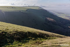 "Truleigh Hill from the Devil's Dyke as the mist begins to ""melt"" away. (Scotland by NJC.) Tags: truleighhillfromdevilsdyke clearingmist scarpslope steepcoombe southdowns hill تَلّ colina 小山 brdo kopec bakke forhøjning landskabet heuvel mäki colline hügel λόφοσ collina 丘 언덕 ås wzgórze deal холм backe เขาเตี้ยๆ tepe coğrafya пагорб đồi"