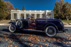 My friends all drive Porsche (Ken Hendricks and Larry Patchett) Tags: franklinmint 1926 mercedesbenz modelk janisjoplin diecast model car petermax 124scale
