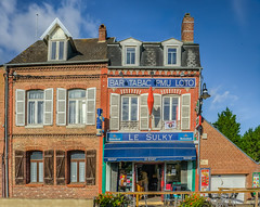 "Bar-Tabac "" Le Sulky"" (capvera) Tags: typical bar tabac sulky house red bricks sonyimages"