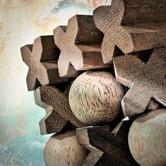 ristinolla (Uniquva) Tags: macromondays gamesorgamepieces tictactoe wood blocks nikon d3200 f16 5sec iso800 28mm