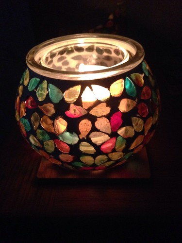 Colourful Candle