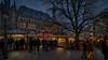 Christmas is coming (Norbert Clausen) Tags: thebluehour blue hour blaue stunde weihnachtsmarkt kerstmarkt rathaus