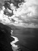 Seashore (Rico the noob) Tags: dof landscape nature d500 city outdoor madeira clouds published 1120mm ocean sea sky blackandwhite water bw 2017 beach coast cliff 1120mmf28