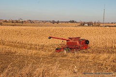 The final harvest of 2017 (Thomas DeHoff) Tags: iowa corn harvest red combine case ih 2388 farm sony a700 tamron 1750
