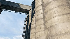 """Factory"" (Omegapepper) Tags: gaming games realistic super resolution real life sky sunshine sun watch dogs factory landscape atmospheric concrete wallpaper screenshot photography photomode camera tools stairs angle"