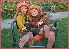 Tivi mit Sanrike ... (Kindergartenkinder) Tags: kindergartenkinder annette himstedt dolls tivi sanrike grugapark essen