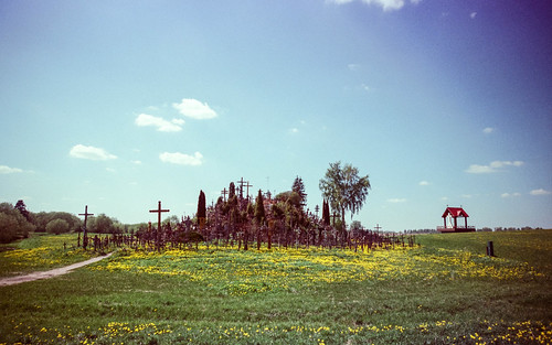 Back of Hill of Crosses