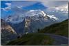 Mattenberg - Eiger - Jungfrau - Klein Fiescherhorn (jamesreed68) Tags: mattenberg eiger jungfrau fiescherhorn oberland bernois suisse schweiz alps alpes grindelwald nature mountain canon eos 600d