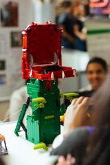 Carnivorous plant (Guilherme Lima IT) Tags: maker faire lego ev3 mindstorms technic technology robot robotic robotics photo