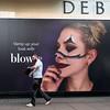 Vamp up Your Look (stevedexteruk) Tags: halloween makeup debenhams beauty fashion billboard poster advertising man 2017 oxfordstreet city westminster london uk blow blowltd