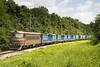 Train 48121 - Back (Krali Mirko) Tags: bdz tp cargo freight container train electric locomotive skoda 68e5 45166 samuil bulgaria railway transport бдж влак локомотив товарен самуил българия