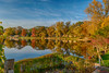 So Many Colors (tquist24) Tags: elkhartriver goshen goshendampond hdr indiana nikon nikond5300 outdoor autumn clouds fall geotagged longexposure reflection reflections river sky tree trees water unitedstates