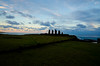 "Sunrise (west facing) (Kristin ""Shoe"" Shoemaker) Tags: chile easterisland rapanui moai ahu tahai"