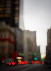 New York lights (Mister Blur) Tags: blur bokeh dusk flicker 5th avenue new york city lights blurry nyc tonight snapseed luces atardecer ocaso november nikon d7100 35mm