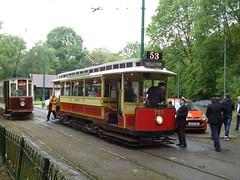Preserved Manchester Corporation Tram 765 03092017a (Rossendalian2013) Tags: preserved tram heatonpark manchester heatonparktramway manchestercorporation california hyderoadcarworks