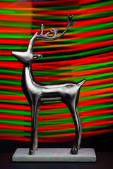 Reindeer Games Red + Green (Grant is a Grant) Tags: christmas d7200 decembre green kcpc kingscountyphotoclub nikon nikond7200 red christmastime december decoration lightpainting noel reindeer 50mm18d 50mm niftyfifty